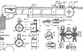 Подводное ружье на резинке своими руками чертежи