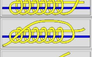 Стопорный узел на основной леске