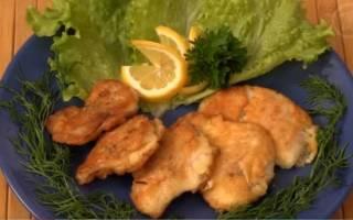 Рыба в кляре рецепт с фото