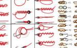 Как вязать узлы на крючках