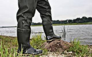 Как выбрать сапоги для рыбалки