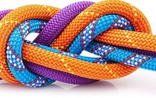 Как завязывать узлы на веревке