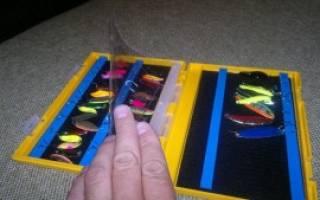 Коробка для блесен своими руками