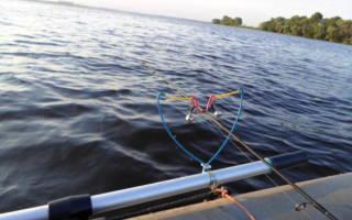 Как ловить на фидер с лодки