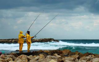 При каком направлении ветра не клюет рыба