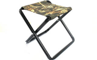 Складной стульчик для рыбалки своими руками