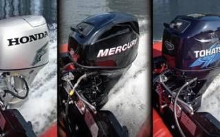 Расход топлива на лодочных моторах