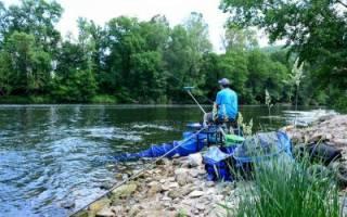 Как оснастить фидер для ловли на реке