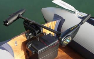 Электро моторы к надувным лодкам