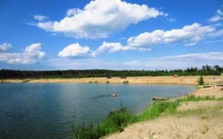 Рыбалка на бисеровом озере