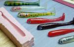 Формы для отливки силиконовых приманок