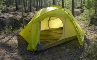 Как собрать зимнюю палатку