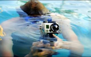 Экшн камера для подводной съемки